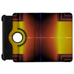 Abstract Painting Kindle Fire HD Flip 360 Case Front