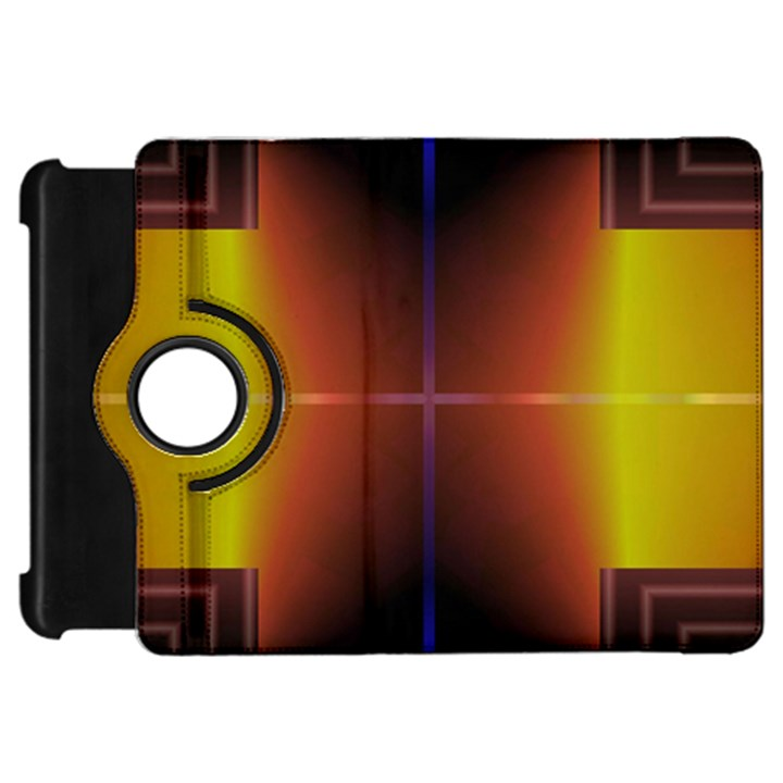 Abstract Painting Kindle Fire HD Flip 360 Case