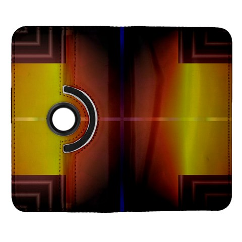 Abstract Painting Samsung Galaxy Note II Flip 360 Case