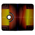 Abstract Painting Samsung Galaxy Note II Flip 360 Case Front