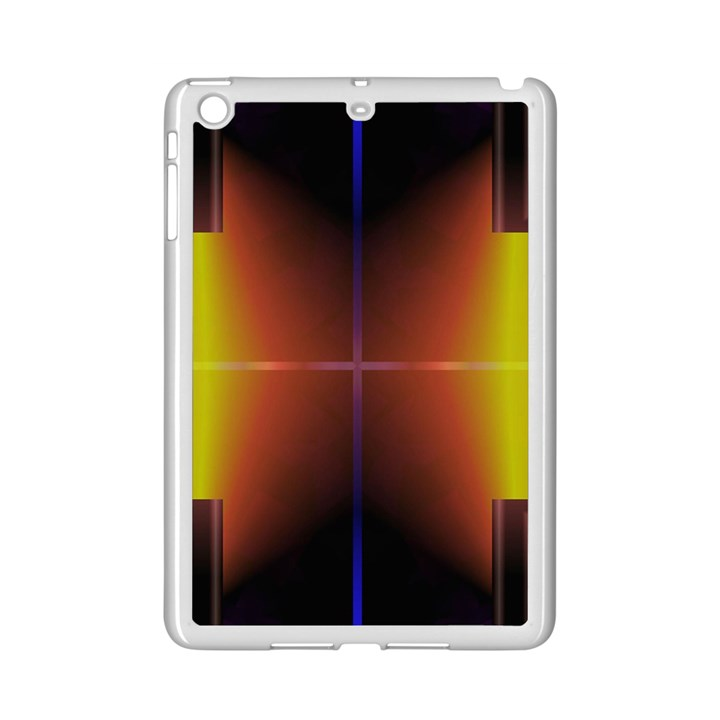Abstract Painting iPad Mini 2 Enamel Coated Cases