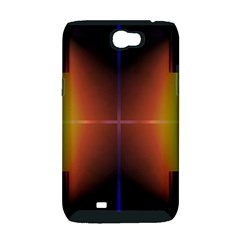Abstract Painting Samsung Galaxy Note 2 Hardshell Case (PC+Silicone)