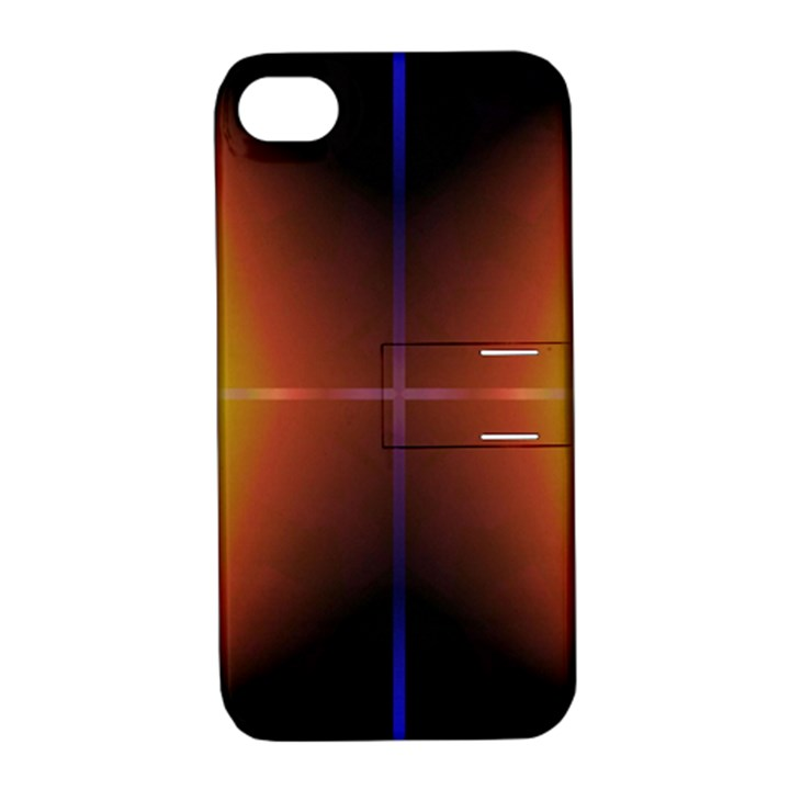 Abstract Painting Apple iPhone 4/4S Hardshell Case with Stand