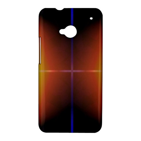 Abstract Painting HTC One M7 Hardshell Case