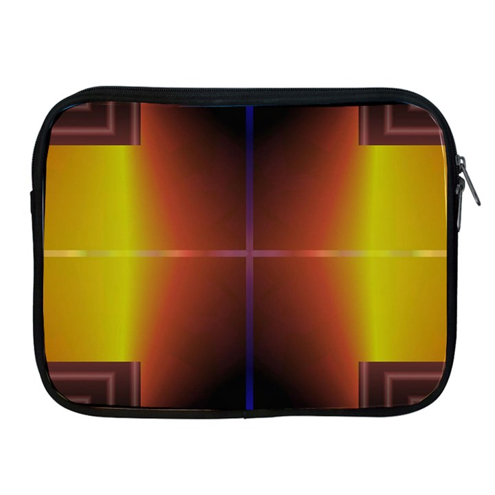 Abstract Painting Apple iPad 2/3/4 Zipper Cases