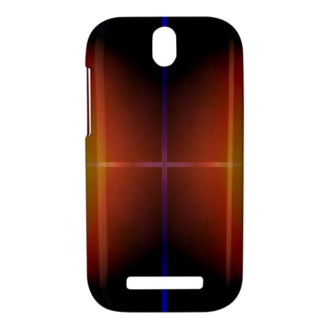 Abstract Painting HTC One SV Hardshell Case