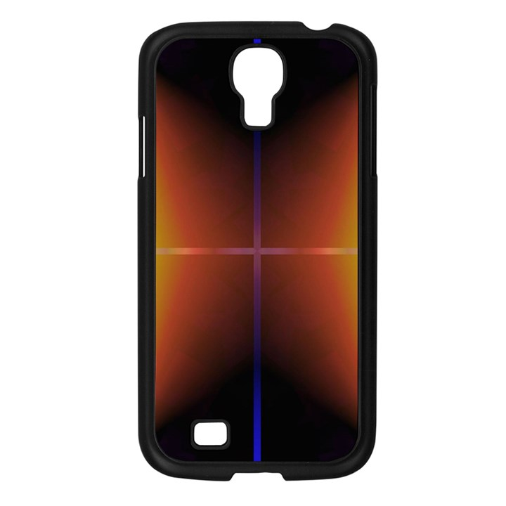 Abstract Painting Samsung Galaxy S4 I9500/ I9505 Case (Black)