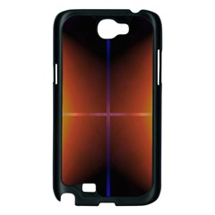 Abstract Painting Samsung Galaxy Note 2 Case (Black)
