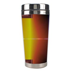 Abstract Painting Stainless Steel Travel Tumblers