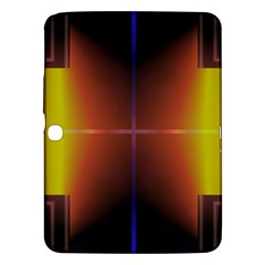 Abstract Painting Samsung Galaxy Tab 3 (10.1 ) P5200 Hardshell Case