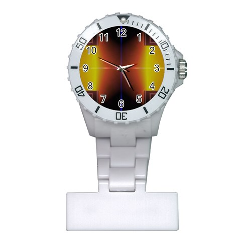 Abstract Painting Plastic Nurses Watch