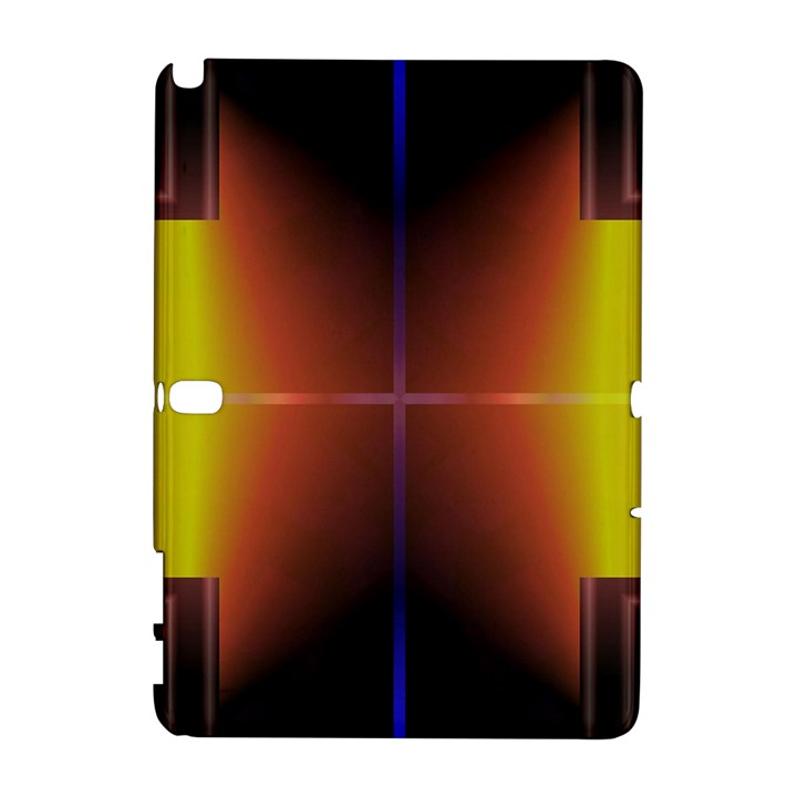 Abstract Painting Samsung Galaxy Note 10.1 (P600) Hardshell Case