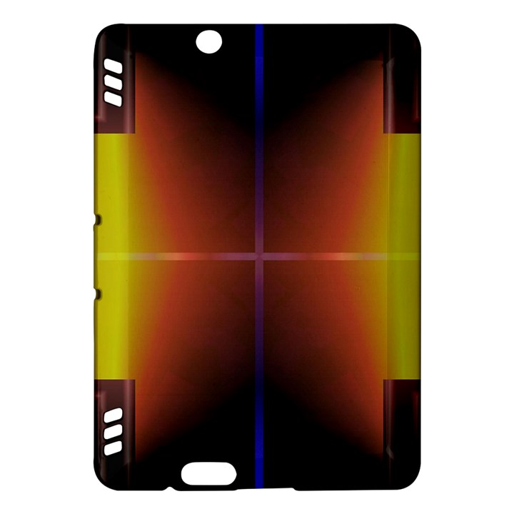 Abstract Painting Kindle Fire HDX Hardshell Case