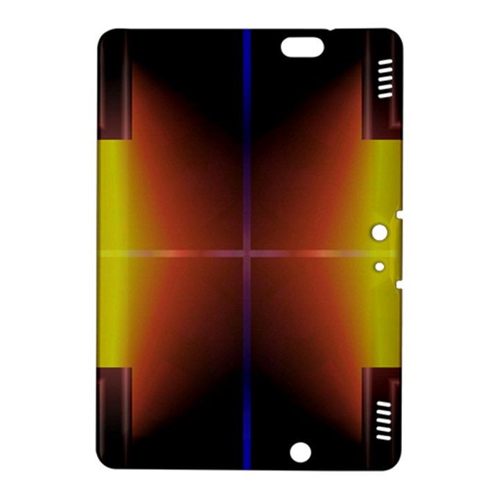 Abstract Painting Kindle Fire HDX 8.9  Hardshell Case