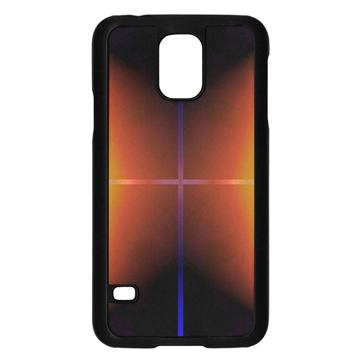 Abstract Painting Samsung Galaxy S5 Case (Black)