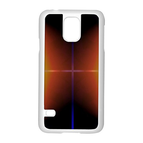 Abstract Painting Samsung Galaxy S5 Case (White)