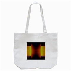 Abstract Painting Tote Bag (White)