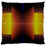 Abstract Painting Large Flano Cushion Case (Two Sides) Back