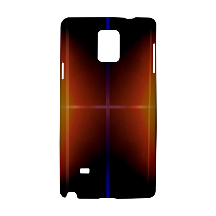 Abstract Painting Samsung Galaxy Note 4 Hardshell Case