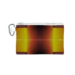 Abstract Painting Canvas Cosmetic Bag (S)