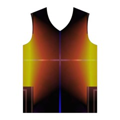 Abstract Painting Men s Basketball Tank Top