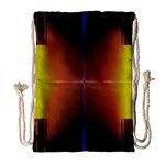 Abstract Painting Drawstring Bag (Large) Front