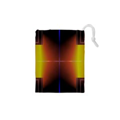 Abstract Painting Drawstring Pouches (XS)