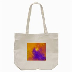 Colorful Universe Tote Bag (Cream)