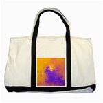 Colorful Universe Two Tone Tote Bag Front