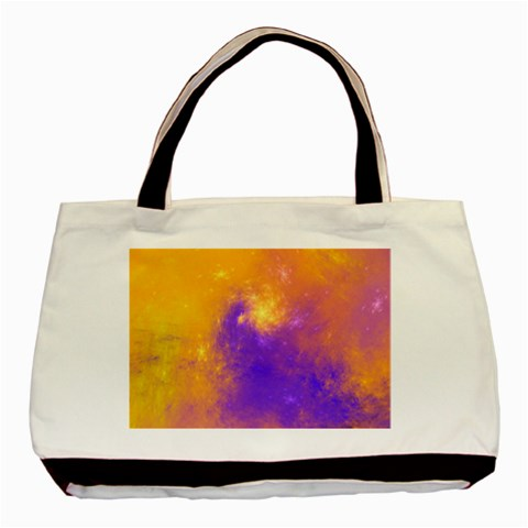 Colorful Universe Basic Tote Bag (Two Sides)