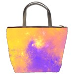 Colorful Universe Bucket Bags Back