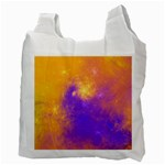 Colorful Universe Recycle Bag (Two Side)  Back