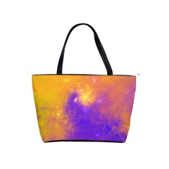 Colorful Universe Shoulder Handbags