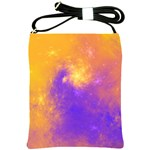 Colorful Universe Shoulder Sling Bags Front
