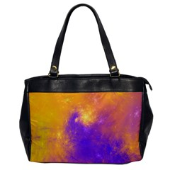Colorful Universe Office Handbags