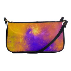 Colorful Universe Shoulder Clutch Bags