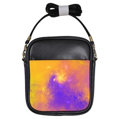Colorful Universe Girls Sling Bags