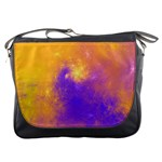 Colorful Universe Messenger Bags Front