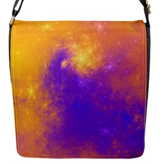 Colorful Universe Flap Messenger Bag (S)
