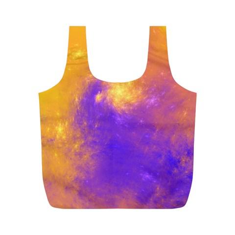 Colorful Universe Full Print Recycle Bags (M)