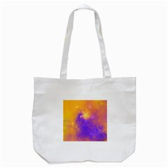 Colorful Universe Tote Bag (white)