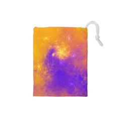 Colorful Universe Drawstring Pouches (Small)