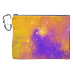 Colorful Universe Canvas Cosmetic Bag (XXL)