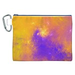 Colorful Universe Canvas Cosmetic Bag (XXL) Front