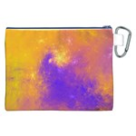 Colorful Universe Canvas Cosmetic Bag (XXL) Back