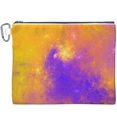 Colorful Universe Canvas Cosmetic Bag (XXXL)