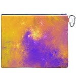 Colorful Universe Canvas Cosmetic Bag (XXXL) Back