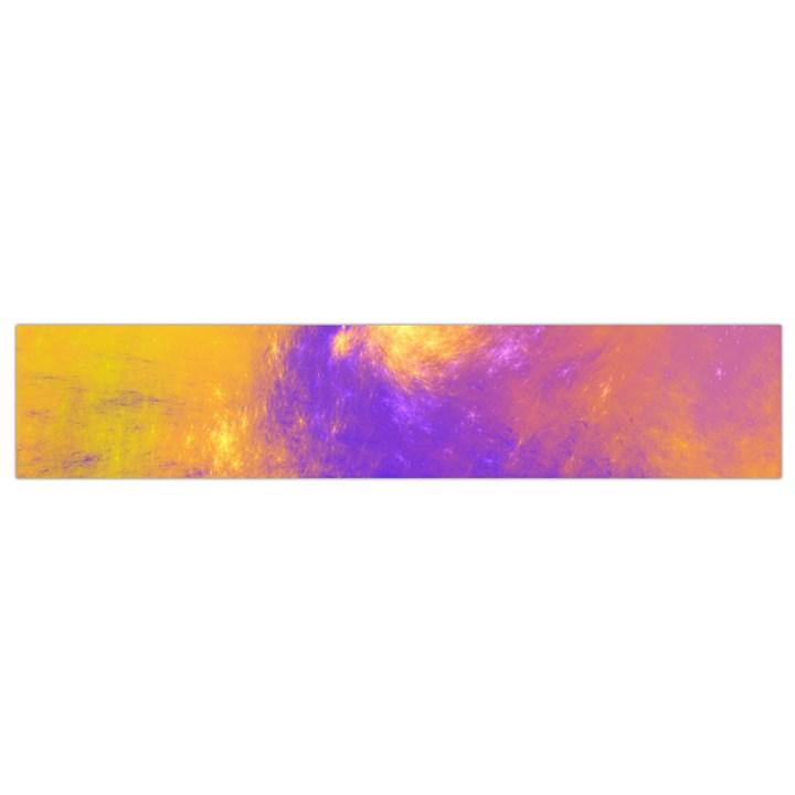 Colorful Universe Flano Scarf (Small)