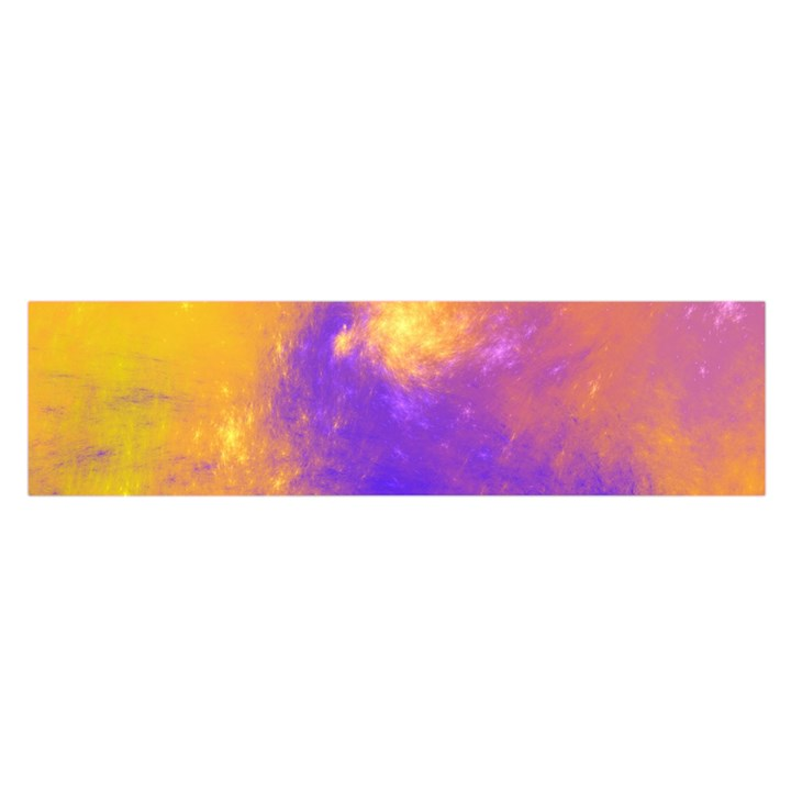 Colorful Universe Satin Scarf (Oblong)