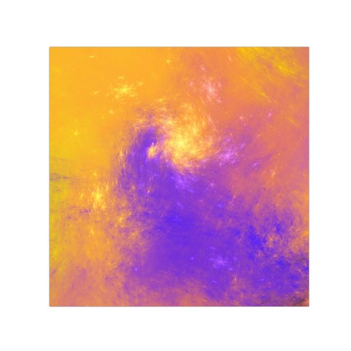Colorful Universe Small Satin Scarf (Square)